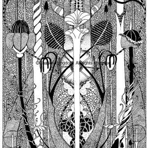 Fantasy Balance Limited Edition Serigraph