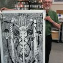 Holding the finished print